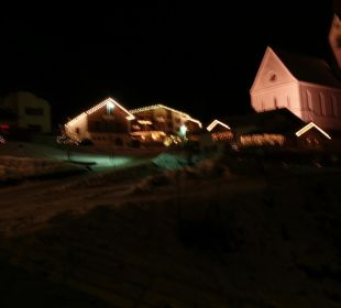 Ansicht bei Nacht Hotel Silbertal