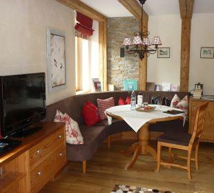 Wohnraum Suite Hotel Alpin Spa Tuxerhof