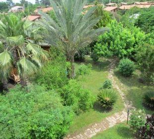 Ausblick von Terasse Hotel Anatolia Resort