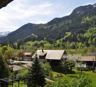 Ausblick Balkon Hotel Garni Malerwinkl