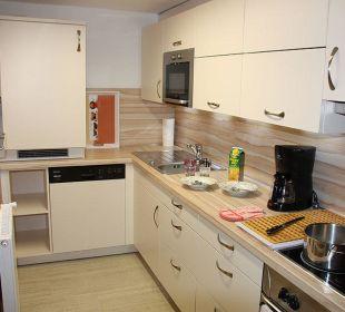 Küche FeWo 5-6 Personen Ferienwohnungen Annelies