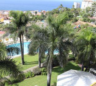 Gepflegte Pool- und Gartenanlage Hotel Tigaiga