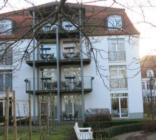 Unser Zimmer im . Stock Seehotel Großherzog von Mecklenburg