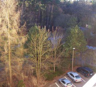 Blick aus Fenster nach rechts AHORN Seehotel Templin