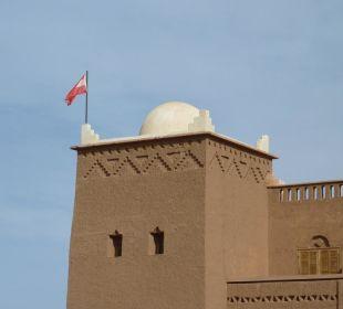 Unsere Flagge Stargazing Hotel SaharaSky