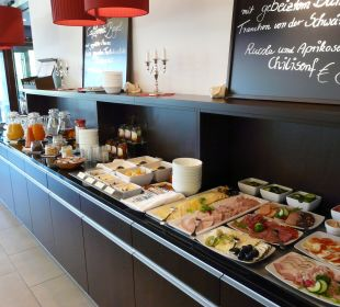 Frühstücksbuffet Hotel Elbiente