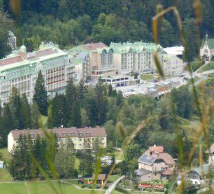 Blick vom Zauberberg Hotel Panhans