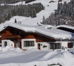 Winteraufnahme Ferienhaus Monika Winter