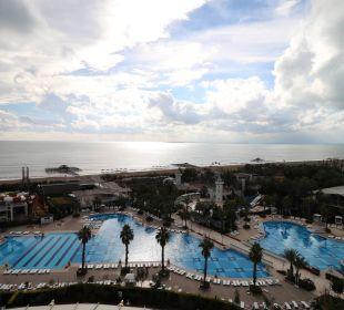 Blick von oben Hotel Delphin Imperial