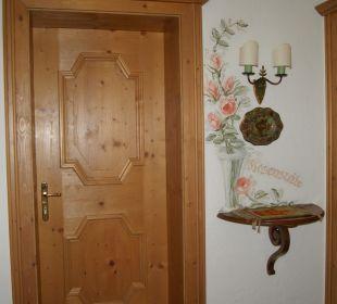 Eingangstür Hotel Sunneschlössli