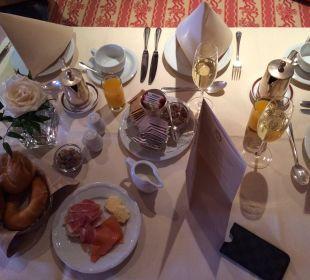 Frühstück Hotel Sacher