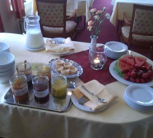 Frühstück altGlowe Hotel Garni