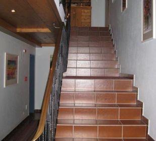 Treppenhaus Aparthotel Spitzer
