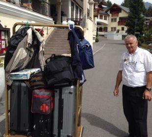 Unser Gepäck für 1 Woche, smile Hotel Cervosa
