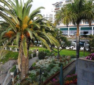 Blick zur oberen Ebene Hotel The Cliff Bay (PortoBay)