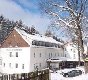 Hotel im Winter  Hotel Waldmühle