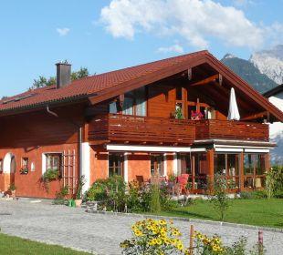 Unser Haus  Ferienwohnung Haus Rosenrot