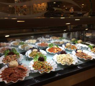 Salatbuffet  Hotel Alba Royal