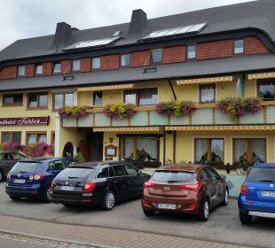 Das Hotel von Außen Landhotel Talblick