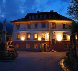 Wirtsahus bei Nacht Hotelchen Döllacher Dorfwirtshaus
