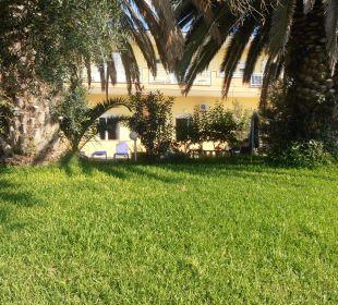 Blick auf meinZimmer, sehr schön ! Hotel Possidona Beach