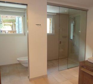 Duschbereich Hotel Matthiol