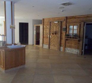 Saunabereich Wohlfühlhotel Ortnerhof