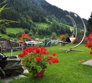 Relaxen im Garten Ferienwohnung Winkler