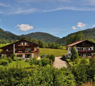 Sommeransicht unserer Gästehäuser Gästehaus Schwemmbauer