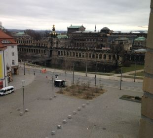 Tolle Aussichten :-) Motel One Dresden am Zwinger