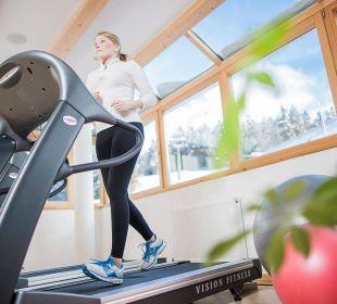 Fitnessraum Wohlfühlhotel Falzeben