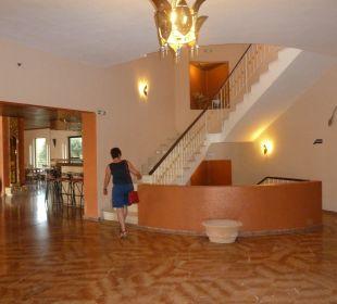 Treppenhaus Hotel Paradise Corfu