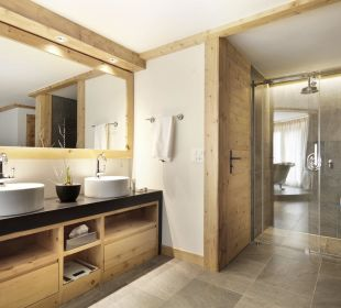 Badezimmer Hotel Walserhof