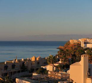 Blick vom 7. Stock auf Morro Sensimar Calypso Resort & Spa