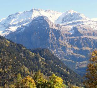 Blick auf das Wildstrubelmassiv Lenkerhof gourmet spa resort