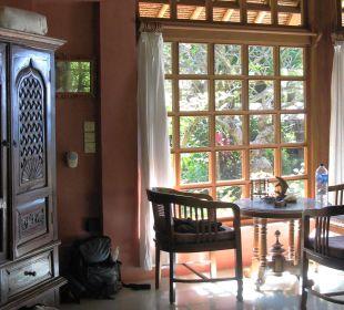 Oktagon Sitzplatz im Haus Ciliks Beach Garden