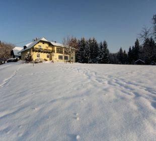 Traumhaft idyllischer Winter am Almhof Appartements & Zimmer Almhof Koren