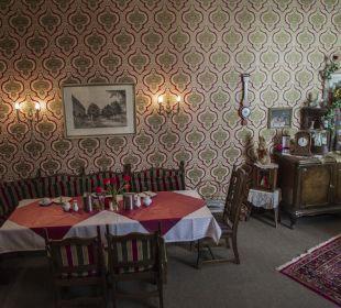 Frühstücks- und Aufenthaltsraum Pension Bismarck