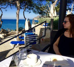 ..Frühstück und Büffet auf einer der 2 Terrassen Universal Hotel Lido Park