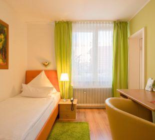 Standard-Einzelzimmer Hotel Central Vital