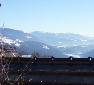 Blick vom Balkon Hotel Lärchenhof