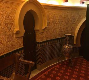 Innen sehr schön Hotel Alhambra Palace