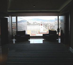 Flur zu den Zimmern Crowne Plaza Barcelona - Fira Center