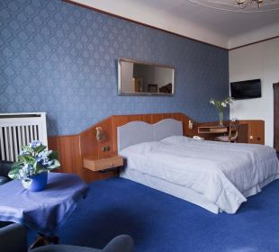 Blaues Zimmer in der Pension Am Park Pension Am Park