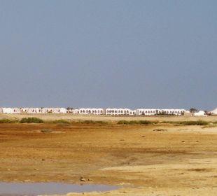 Blick zum Gorgonia Beach
