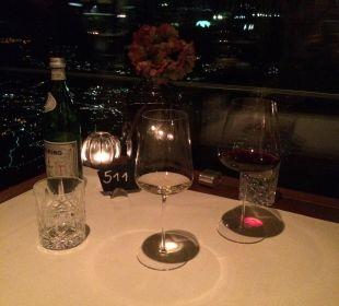 Abendessen im Panorama Restaurant MIRAMONTI Boutique Hotel