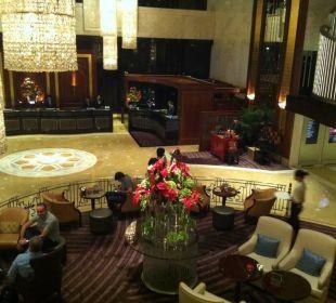 Gepflegter Eingangsbereich InterContinental Hotel Grand Stanford Hong Kong