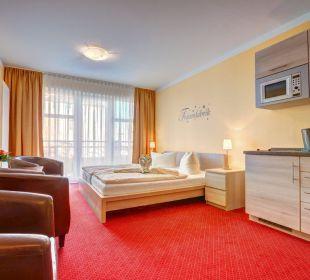 Komfortzimmer mit Pantryküche Aparthotel Strandhus
