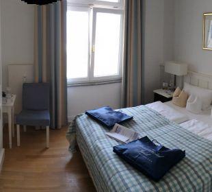 Kleines aber schönes Zimmer Strandhotel Kurhaus Juist