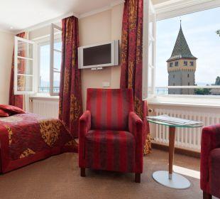 Einzelzimmer mit Seeblick Hotel Lindauer Hof